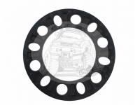 Проставка под литье пластина 6-139,7мм - h6,5mm (1шт) черная TRV-1