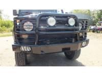 Бампер силовой передний Зубр 110 на УАЗ Хантер